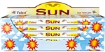 Wholesale Tulasi Sun Incense 8 Stick Packs (25/Box)