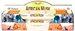 Wholesale Tulasi African Musk Incense 20 Stick Packs (6/Box)
