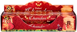 Wholesale Tulasi Chandan Incense 20 Stick Packs (6/Box)
