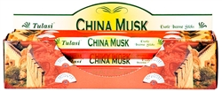 Wholesale Tulasi China Musk Incense 20 Stick Packs (6/Box)
