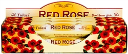 Wholesale Tulasi Red Rose Incense 20 Stick Packs (6/Box)