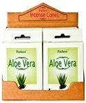 Wholesale Tulasi Aloe Vera Cones 15 Cones/Pack (12/Box)