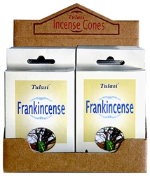Wholesale Tulasi Frankincense Cones 15 Cones/Pack (12/Box)