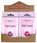 Wholesale Tulasi Night Queen Cones 15 Cones/Pack (12/Box)
