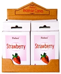 Wholesale Tulasi Strawberry Cones 15 Cones/Pack (12/Box)