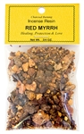 Wholesale Red Myrrh- Incense Resin - 3/4 OZ.
