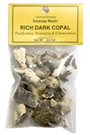 Wholesale Rich Dark Copal - Incense Resin - 3/4 OZ.