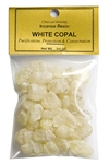 Wholesale White Copal - Incense Resin - 3/4 OZ.