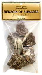 Wholesale Benzoin of Sumatra - Incense Resin - 4 Ounce