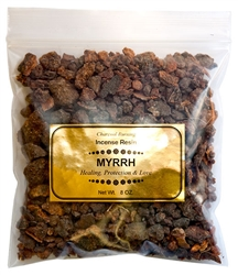 Wholesale Myrrh Incense Resin - 8 OZ.