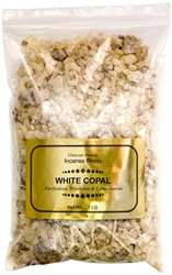 Wholesale White Copal Incense Resin - 1 LB.