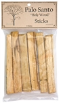 "Wholesale Palo Santo Wood Sticks 4""L (Pack of 6 Sticks)"