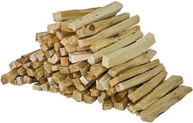 "Wholesale Palo Santo Wood Sticks 4""L - 1 LB. (Thin Sticks)"