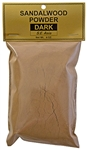 Wholesale Sandalwood Powder Dark (S.E. Asia) - 4 OZ.