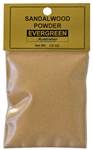 Wholesale Sandalwood Powder - Evergreen (Australian) - 1/2 OZ.