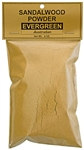 Wholesale Sandalwood Powder Evergreen (Australian) - 4 OZ.
