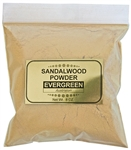 Wholesale Sandalwood Powder Evergreen (Australian) - 8 OZ.