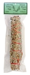 "Wholesale White Sage & Shasta Sage Smudge 9""L (Large)"