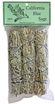 "Wholesale Blue Sage Smudge 4""L (Mini) (Pack of 3)"