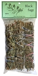 "Wholesale Black Sage Smudge 4""L (Mini) Pack of 3)"