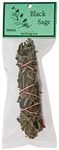 "Wholesale Black Sage Smudge 4.5""L (Small)"