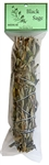 "WholesaleBlack Sage Smudge 7""L (Medium)"