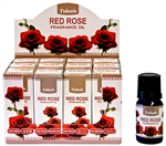 Wholesale Tulasi Red Rose Fragrance Oil 10 ML - 1/3 FL. OZ. (12/Box).