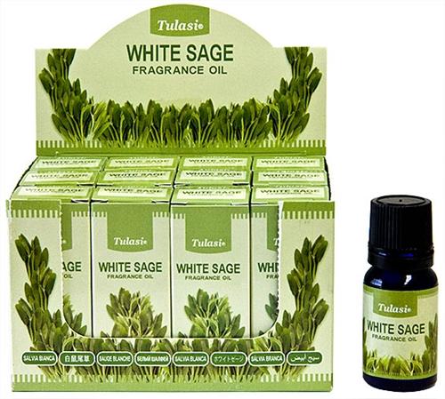 4658 Tulasi White Sage Fragrance Oil 10 ML - 1/3 FL  OZ  (12/Box)