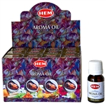 Wholesale Hem Mystic Amber Aroma Oil 10 ML - 1/3 FL. OZ. (12/Box)