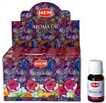 Wholesale Hem Mystic Rose Aroma Oil 10 ML - 1/3 FL. OZ. (12/Box)
