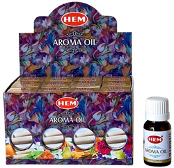 Wholesale Hem Mystic Sandal Aroma Oil 10 ML - 1/3 FL. OZ. (12/Box)