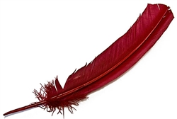 "Wholesale Turkey Dyed Red Feather 11-13""L"