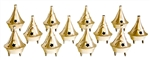 "Wholesale Brass Cone Burners 2.5""H (Set of 12)"