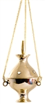 "Wholesale Brass Hanging Censer Burner 4.5""H"