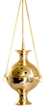 "Wholesale Brass Hanging Censer Burner 8""H"