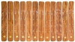 "Wholesale Wooden Ash Catcher Brass Inlay Sun 10""L (Set of 12)"