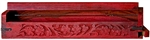 "Wholesale Wooden Coffin Box Red 12""L"