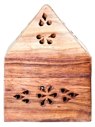 "Wholesale Wooden Cone Burner 3""x3""x4.5"""