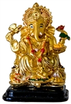 "Wholesale Lord Ganesh Polyresin Statue 4""H"