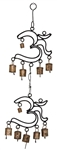 "Wholesale 2 Om Windchime 19""H"