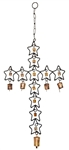 "Wholesale Star Cross Windchime 27""H"