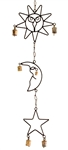 "Wholesale Sun, Moon & Star Windchime 31""H"