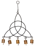 "Wholesale Triquetra Windchime 14""H"