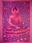 "Wholesale Buddha Tapestry 84""x 103"" (Purple)"