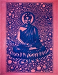 "Wholesale Buddha Tapestry 84""x 103"" (Turquoise)"