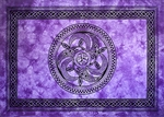 "Wholesale Celtic Chakra Tapestry 72""x 108"" (Purple)"