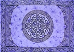 "Wholesale Celtic Mandala Tapestry 72""x 108"" (Purple)"