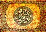 "Wholesale Celtic Mandala Tapestry 72""x 108"" (Yellow)"