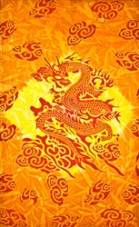 "Wholesale Dragon Tapestry 69""x 108"" (Orange)"