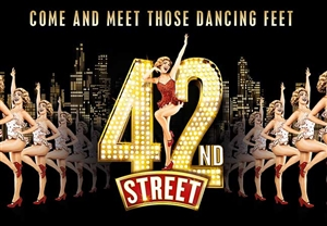 42nd Street theatre vouchers | 42nd Street theatre tokens | 42nd Street musical and dinner theatre gift experience package for two